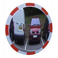 Miroir de surveillance en polycarbonate à bandes réfléchissantes