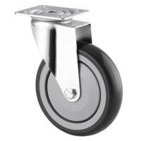 Roulettes pivotantes collectivité fixation à platine type 1670 PIP et 2470 PIP