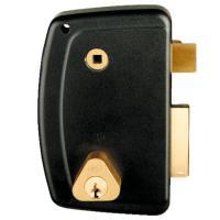 Serrure en applique verticale à fouillot - Pêne dormant et demi-tour - A cylindre rond - Match