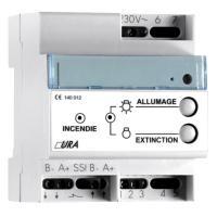 Télécommande pour éclairage de sécurité URA