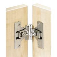 Charnière invisible spécifique 180° pour portes pliantes avec axe de rotation décalé