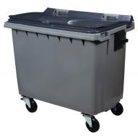 Conteneur 4 roues 660 litres - préhension latérale