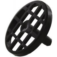 Grille noire polypropylène Ø 50 mm
