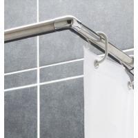 Tringle d'angle pour rideau de douche