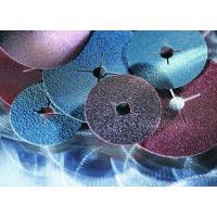 Abrasifs en disques fibre corindon alésage 22 mm KF 708