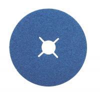 Abrasifs en disques fibre zirconium alésage 22 mm ZF 713