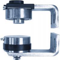 Pivot à visser de portail pour tube Ø 50 mm