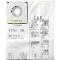 Sacs filtre de sécurité pour CTH 26