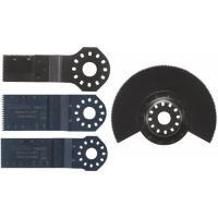 Kit 4 accessoires pour bois et métaux