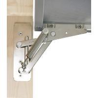 Compas d'abattant Lift 90 Alu 90° - 4,6 kg
