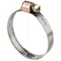 Colliers de serrage acier W1 bande ajourée 8 mm