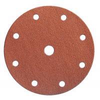 Abrasifs en disques papier anti-encrassant perforés 9 trous corindon KP 131