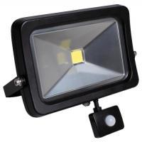 Projecteur LED avec détecteur Flood Light Slim IP65 à fixer