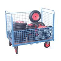 Chariot conteneur grillagé sans toit 500 kg