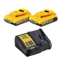 Pack chargeur + 2 batteries XR 18 V