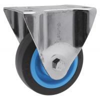 Roulettes fixes sur platine roue Résilex® pour charges lourdes - Maxiroll