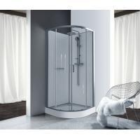 Cabine de douche 1/4 de rond à portes coulissantes Kara