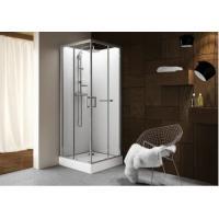 Cabine de douche carrée à portes coulissantes Kara