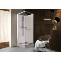 Cabine de douche carrée à portes pivotantes Kara