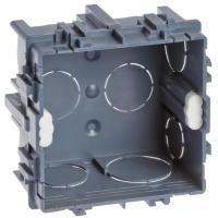 Boîte d'appareillage carrée à encastrer pour maçonnerie XL Tradi.