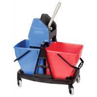 Chariot de ménage 2 x 18 litres Sani Duo