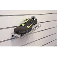 Tablettes chaussures pour panneaux rainurés