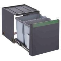 Poubelle Cube 40 - pour caisson de 400 mm - fixation sur le fond