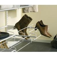 Porte-chaussures coulissant 3 rangées pour crémaillères et consoles - Système suspendu
