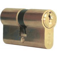 Cylindre double de sûreté - Profil européen s entrouvrant sur numéro - Laiton poli - Série City 5G