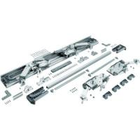 Kit de ferrure In Line XL avec amortisseur - 2 portes