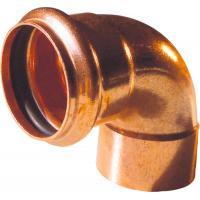 Coude cuivre 90° femelle à souder / femelle à joint torique