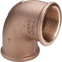 Coude bronze 90° F/F à visser