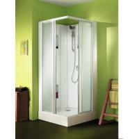 Cabine de douche IZIBOX carrée portes coulissantes