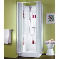 Cabine de douche IZIBOX carrée portes battantes