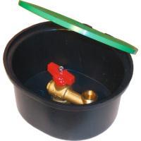 Bouche d'arrosage robinet à sphère
