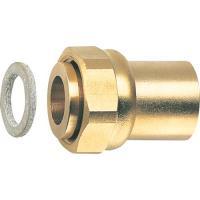 Raccord 2 pièces à joint plat pour robinet Gaz (JPG) tube cuivre