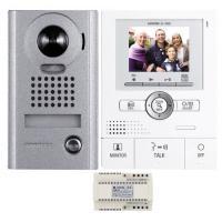 Kits portiers vidéo mains libres à fil - résidentiels - pose en applique avec alimentation