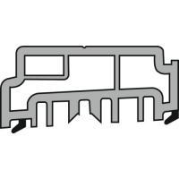 Profil support P1634 pour seuil à rupture de pont thermique