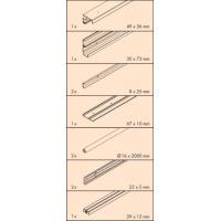 Frontino 40 H Forslide (FS) pour portes coplanaires