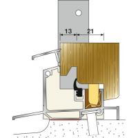 Seuil menuiserie bois - portes-fenêtres 48 mm aluminium - ISOL 47 T