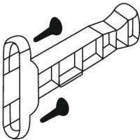 Attache-façade pour tiroirs double paroi Ouvéa II
