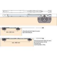 Kit amortisseurs 2 portes - CLIPO 16H IS/MS ou CLIPO 16 GPK IS- pour vantail de 16 kg