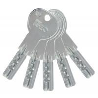 Kit de 5 clés sur numéro de variure AGL 697