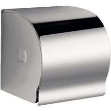 Porte-rouleaux papier WC Classique Inox à fermeture à clé