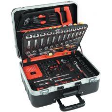 Composition multi-usage 145 outils + 1 paire d'enceintes magnétiques sans fil offerte