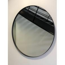 Miroir verre rond Mitiaro encadré Ø 80 cm