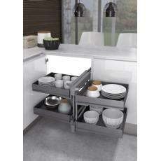 Ferrure 839 Compact 2 pour meubles d'angle - Ikona