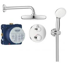 Ensemble de douche thermostatique encastré Grohtherm / Tempesta 210