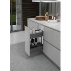 Ferrure pour meuble bas 7102K Ikona - paniers porte-bouteilles