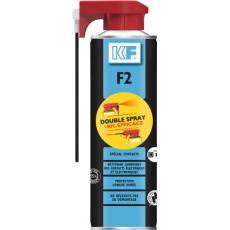 Nettoyant et lubrifiant F2 Double Spray